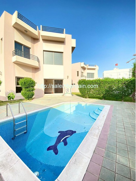 SAAR STUNNING 5 BEDROOM FURNISHED VILLA WITH POOL, GARDEN BD 1100 (INCLUSIVE)