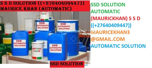 Ssd solution chemical and activation powder fo sell +27640409447
